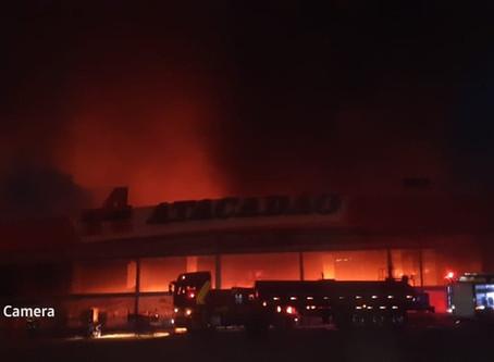 Falha em equipamento pode ter prejudicado combate a incêndio