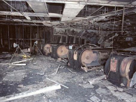 Um fósforo aceso causou o pior incêndio do metrô de Londres