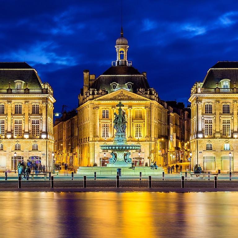 """""""Bordeaux hier et aujourd'hui"""" par Maryse Wright."""