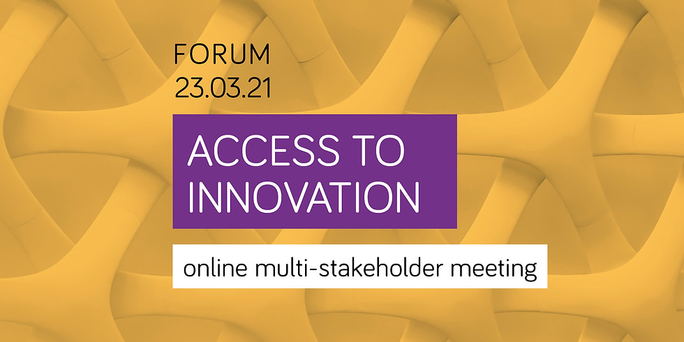 Access to innovation - multi-stakeholder meeting