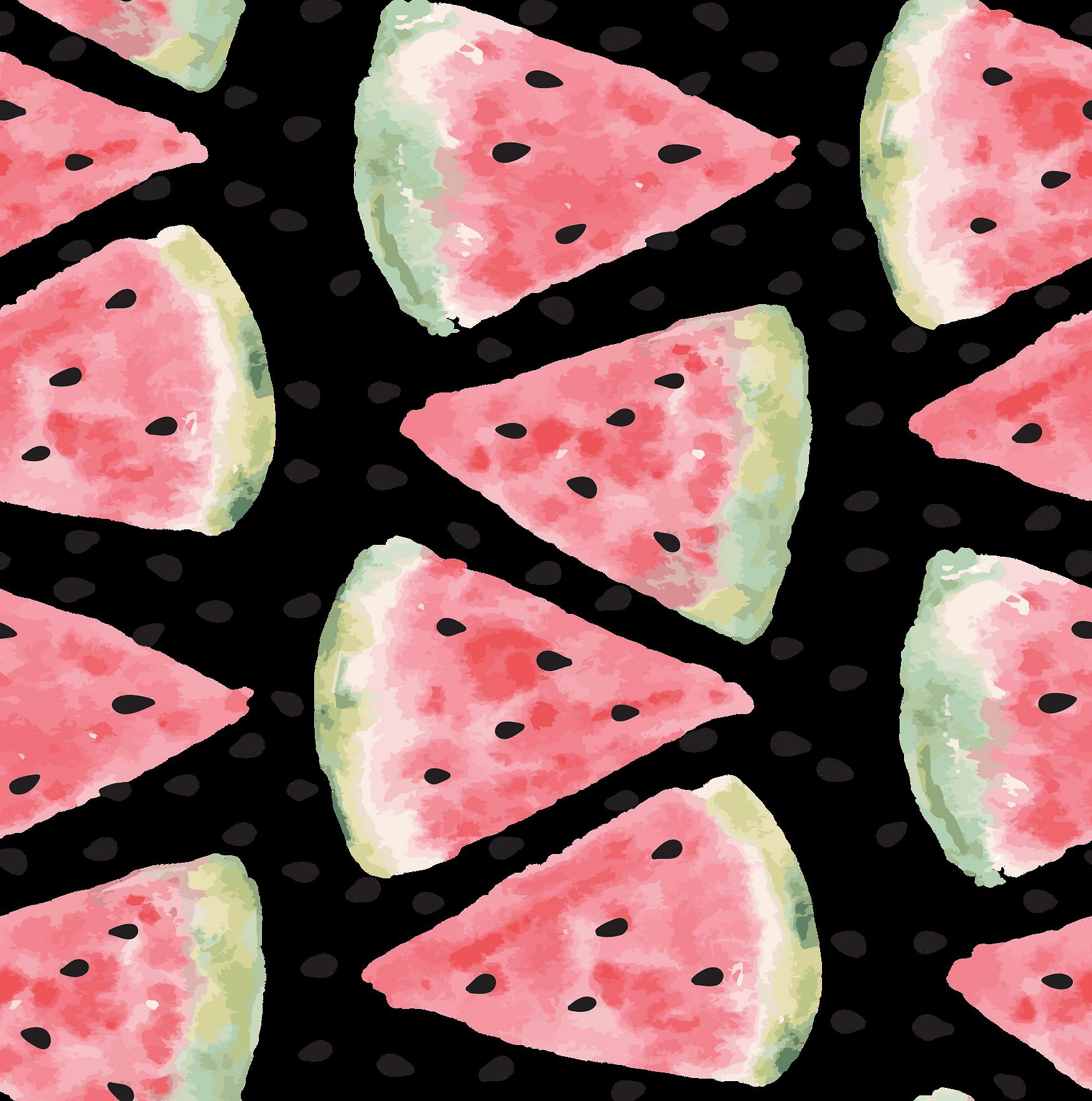 Watercolor Watermelon Print