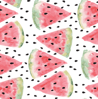 Watercolor Watermelon Print
