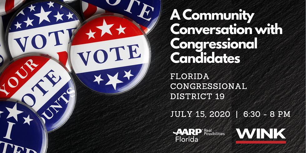 AARP Community Conversation with Congressional Candidates