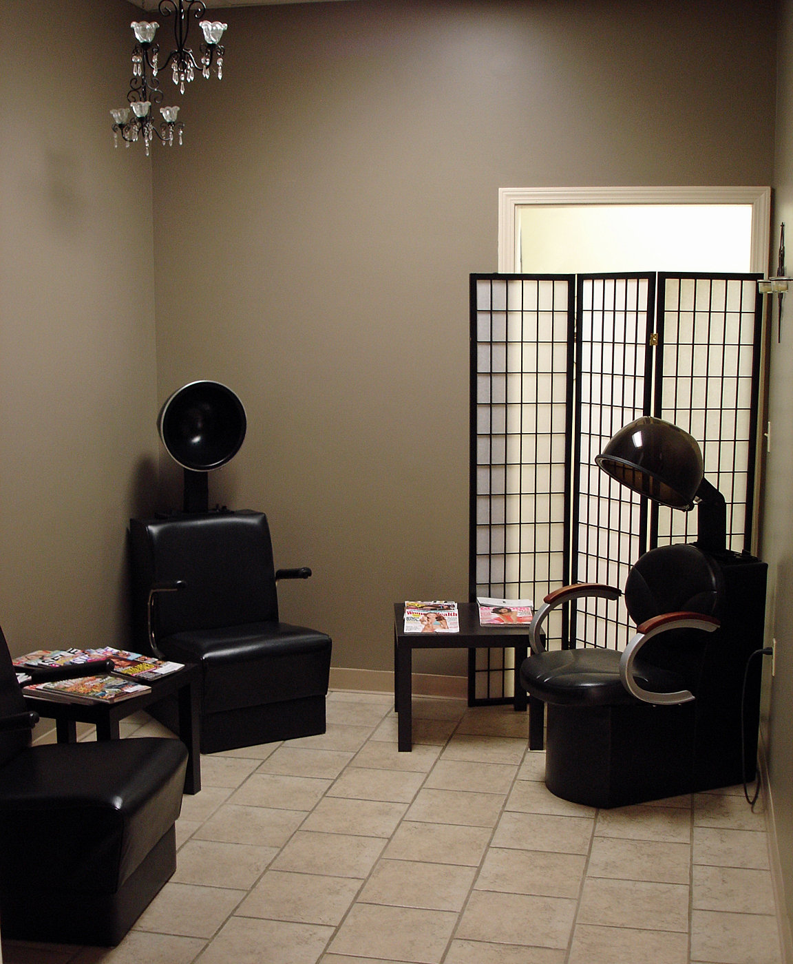 the living room hair salon