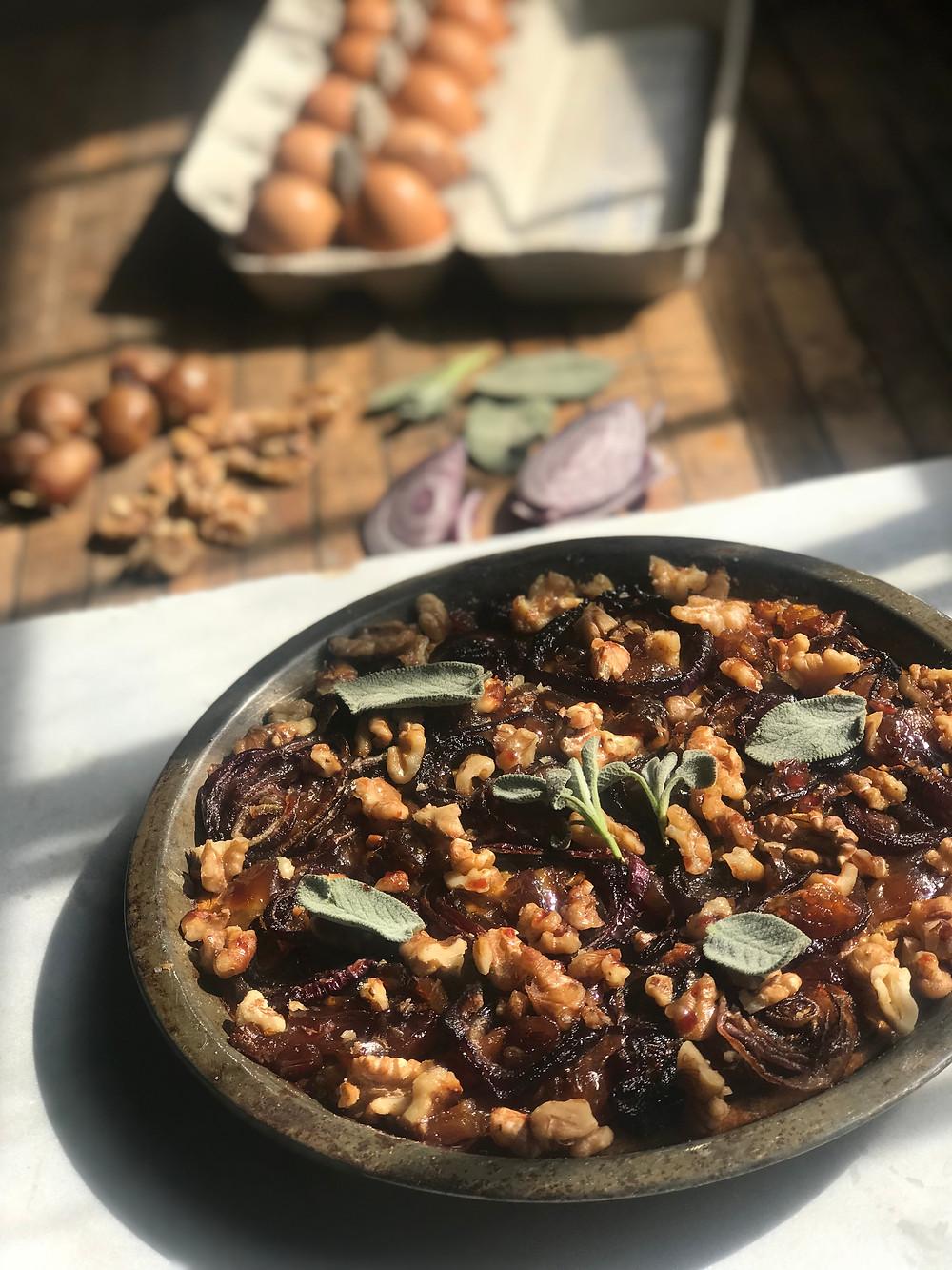 Butternut Squash Pie recipe with dates