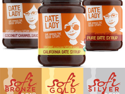 DATE LADY WINS Gold, Silver and Bronze 2018 sofi™ Awards