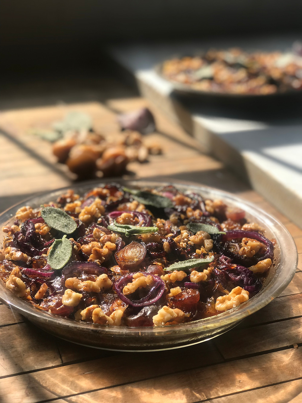 Organic Date Squash Pie