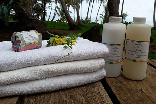 Detergente Natural para lavar ropa en la lavadora