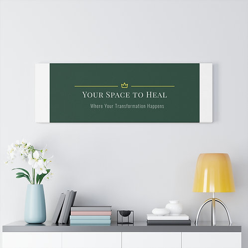 Your Space to Heal wall_logo