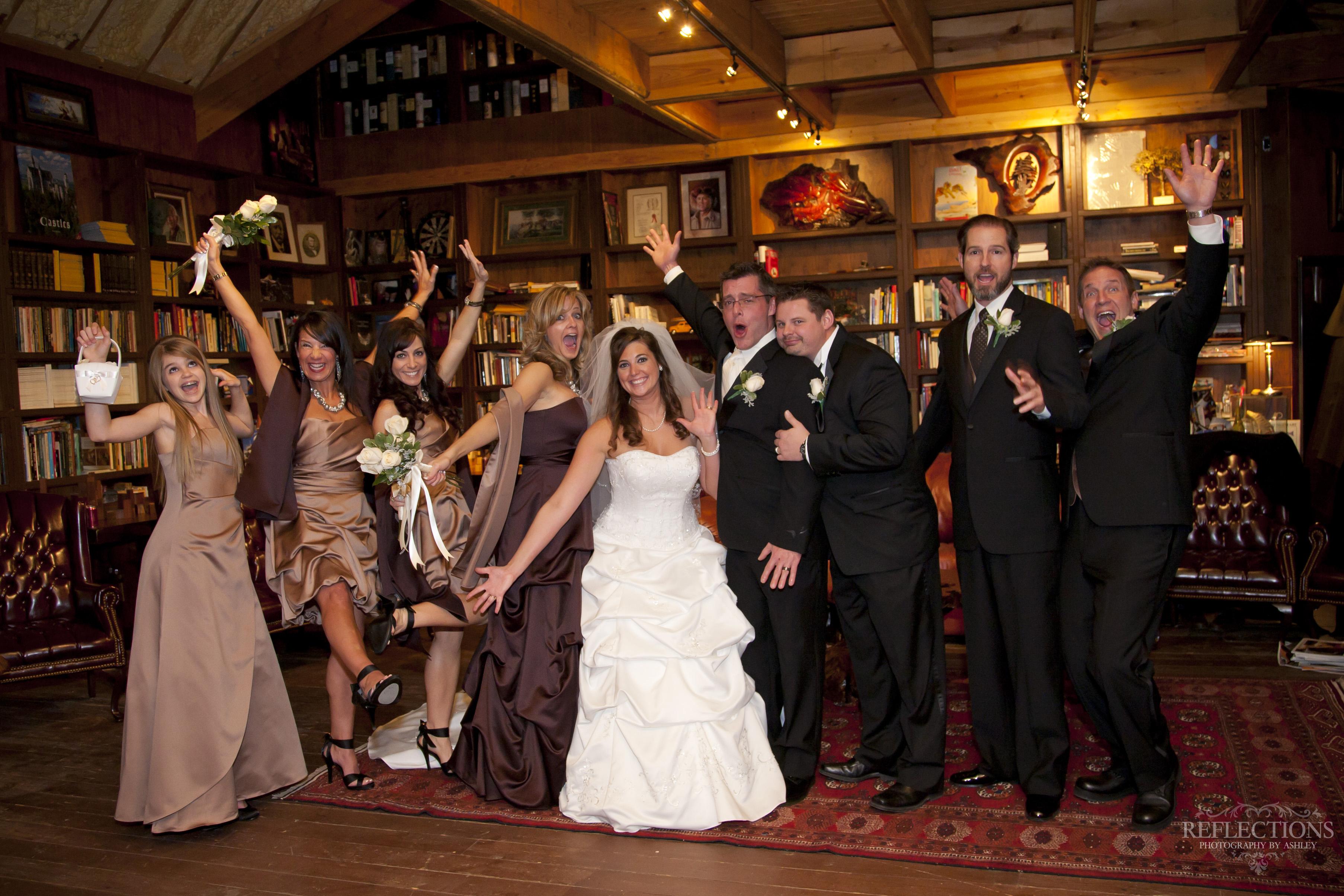 Wedding Photo Castle Rogue's Manor