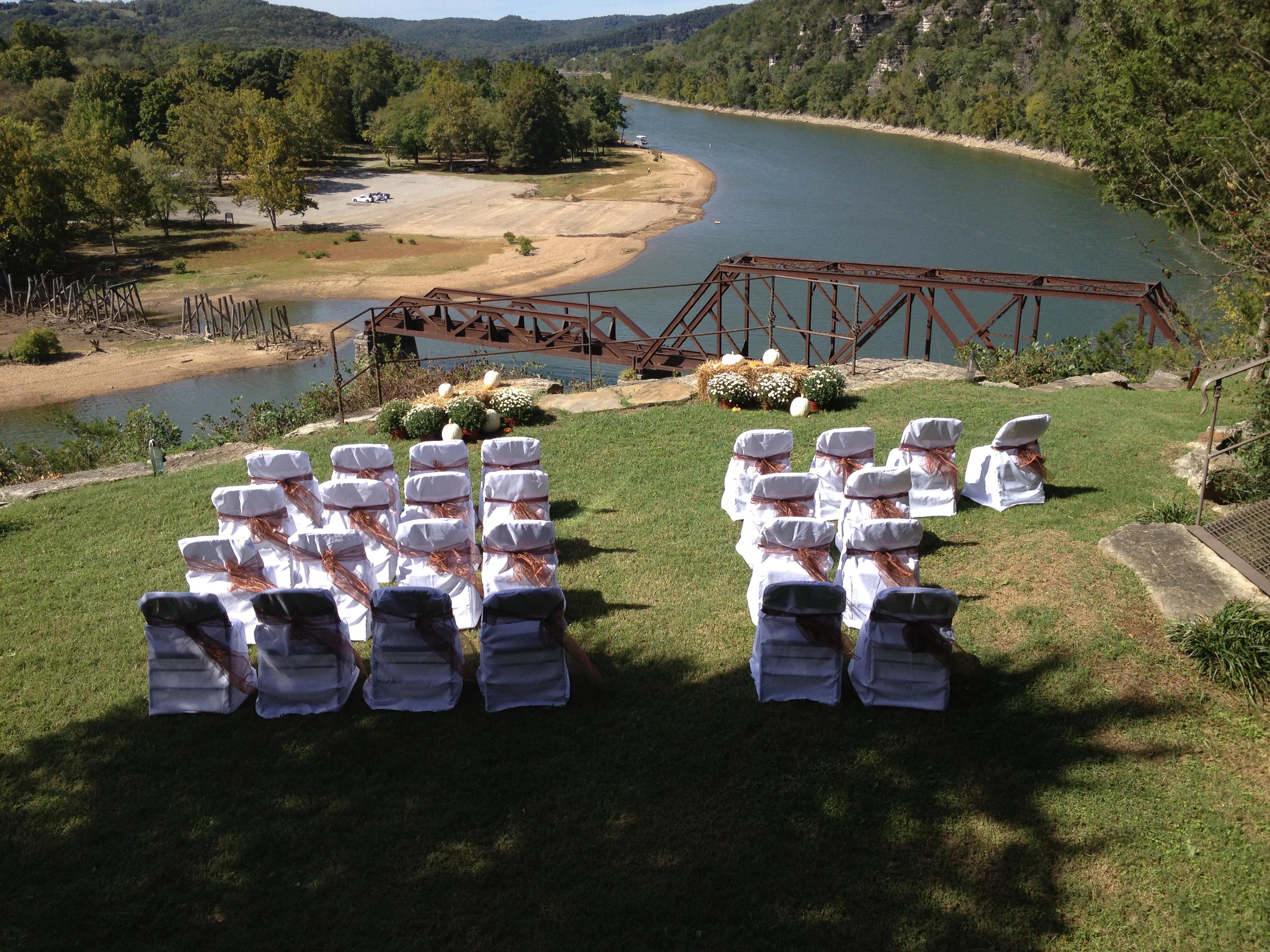 Outdoor Wedding Castle Rogue's Manor