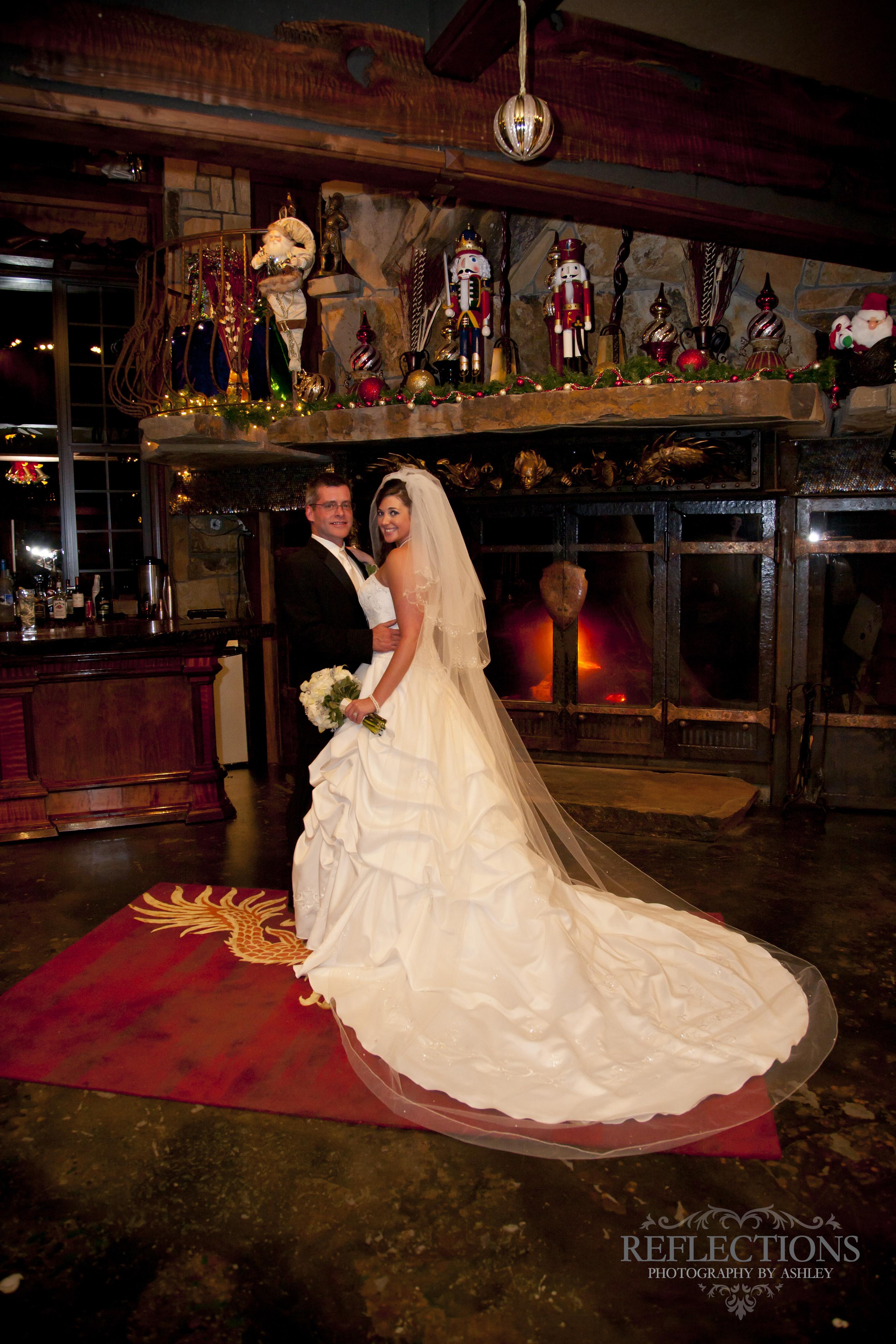 wedding at Castle Rogue's Manor