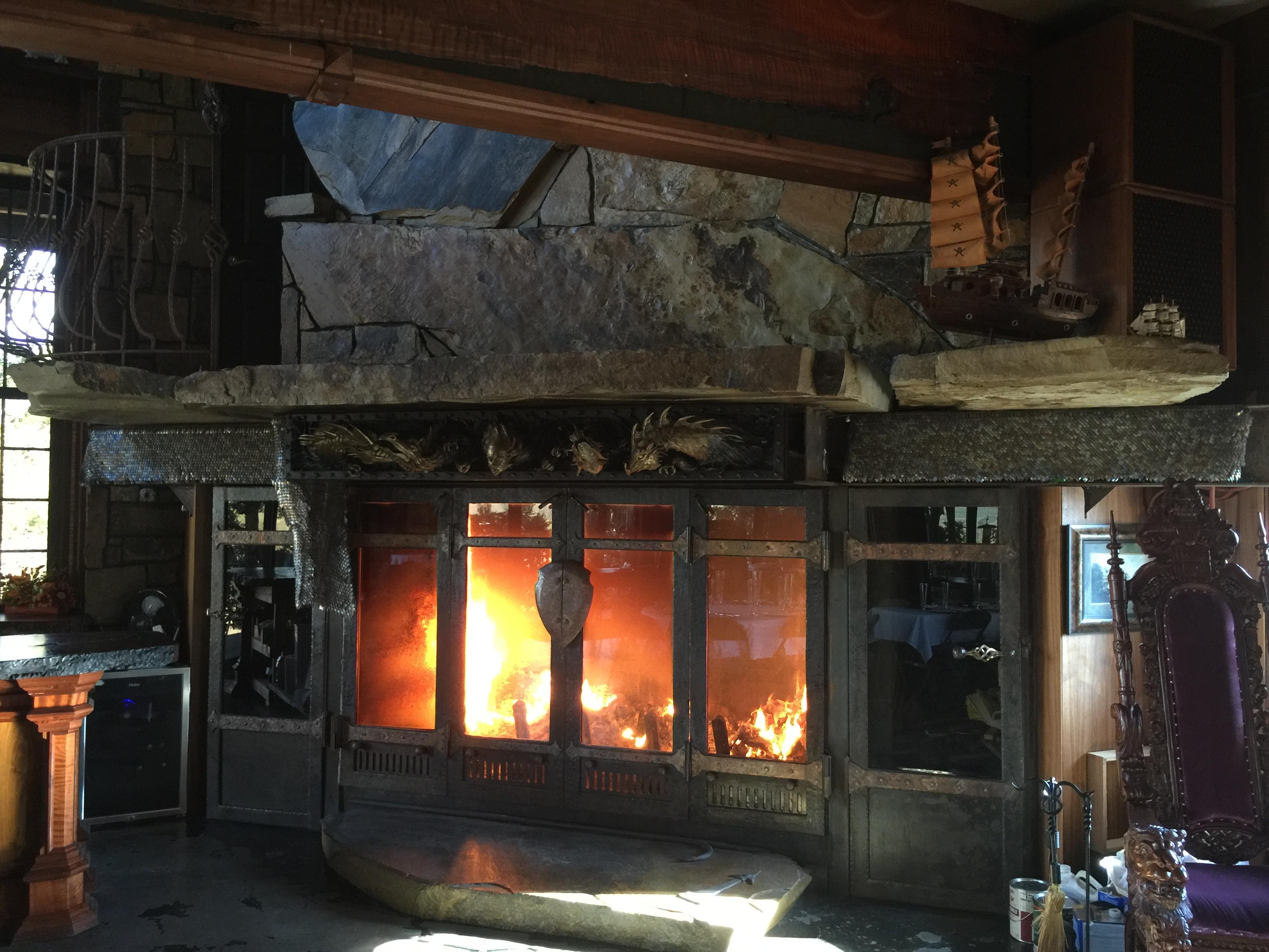 Castle Rogue's Manor Fireplace