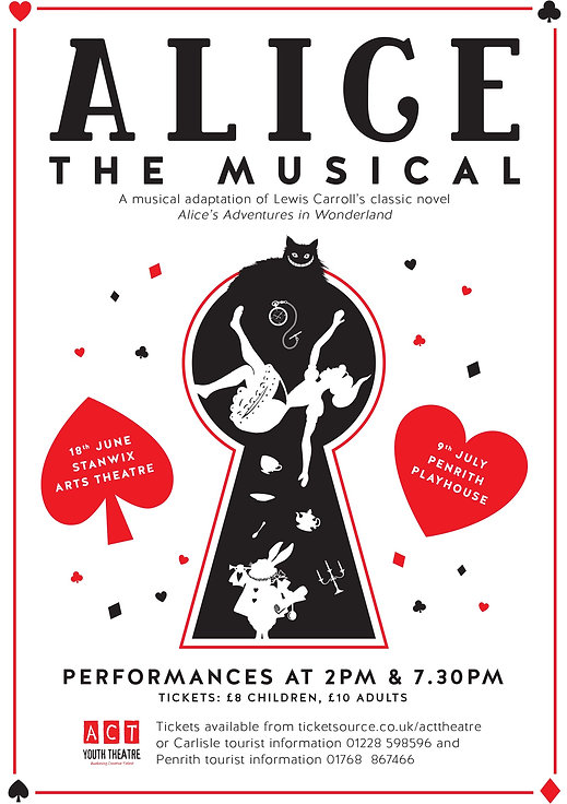 Alice the Musical poster 2016