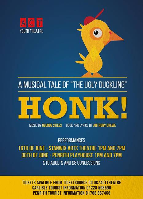 Honk! the Muscial Poster 2018