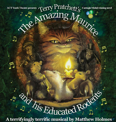 The Amasing Maurice and his educated Rodents 2014 show Poster