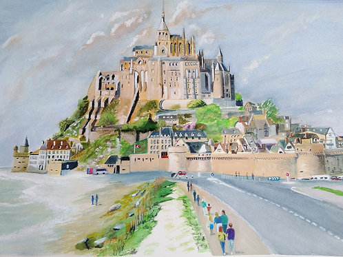 Mont St Michel, France - ORIGINAL