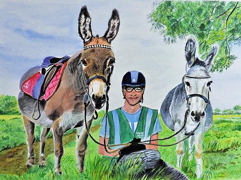 Donkeys Day Out