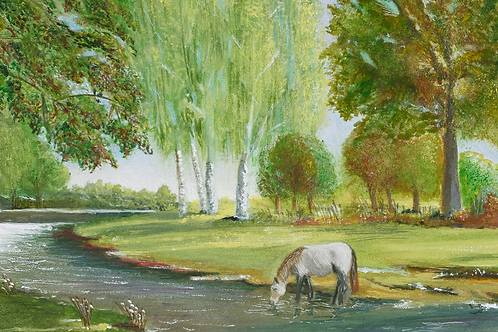 New Forest Pony - ORIGINAL -  SOLD