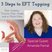3 Steps for How to Use EFT Tapping to Lower Stress, Cope and Relax with Amanda Ferrat