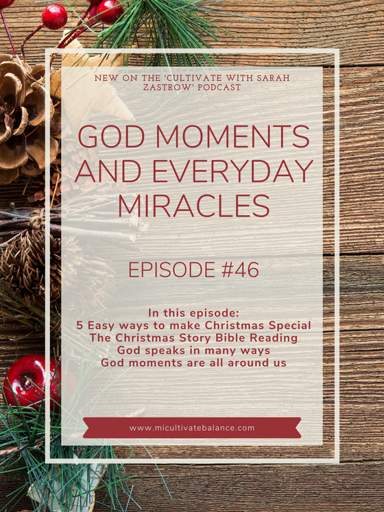 """How to Feel """"God Moments"""" and Every Day Miracles"""