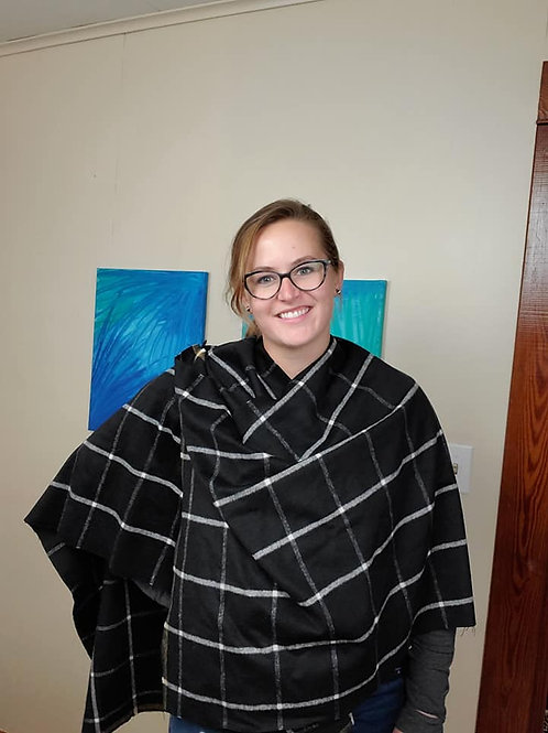 Lux Flannel Poncho