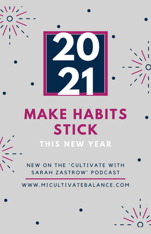 3 Steps to Make Habits and Resolutions Stick this New Year