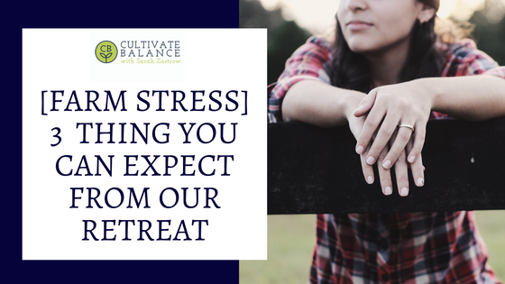 3 Things You Can Expect at the Retreat