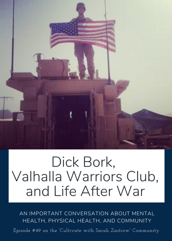 Dick Bork, Valhalla Warriors Club and Life After War