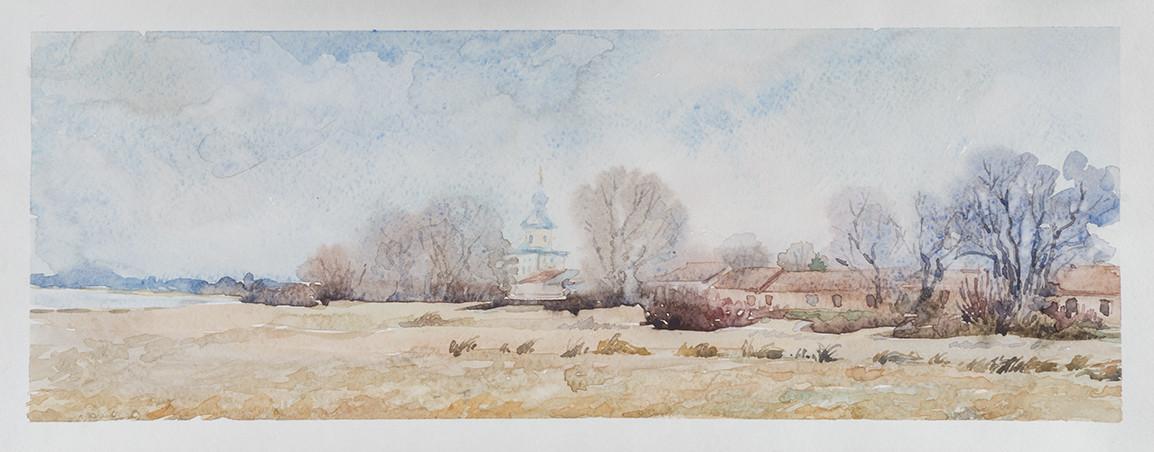 Светлана Юткина «У стен Юрьева монастыря»