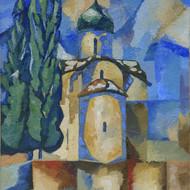 Дмитрий Жогин «Церковь Федора Стратилата на Ручью зимой»