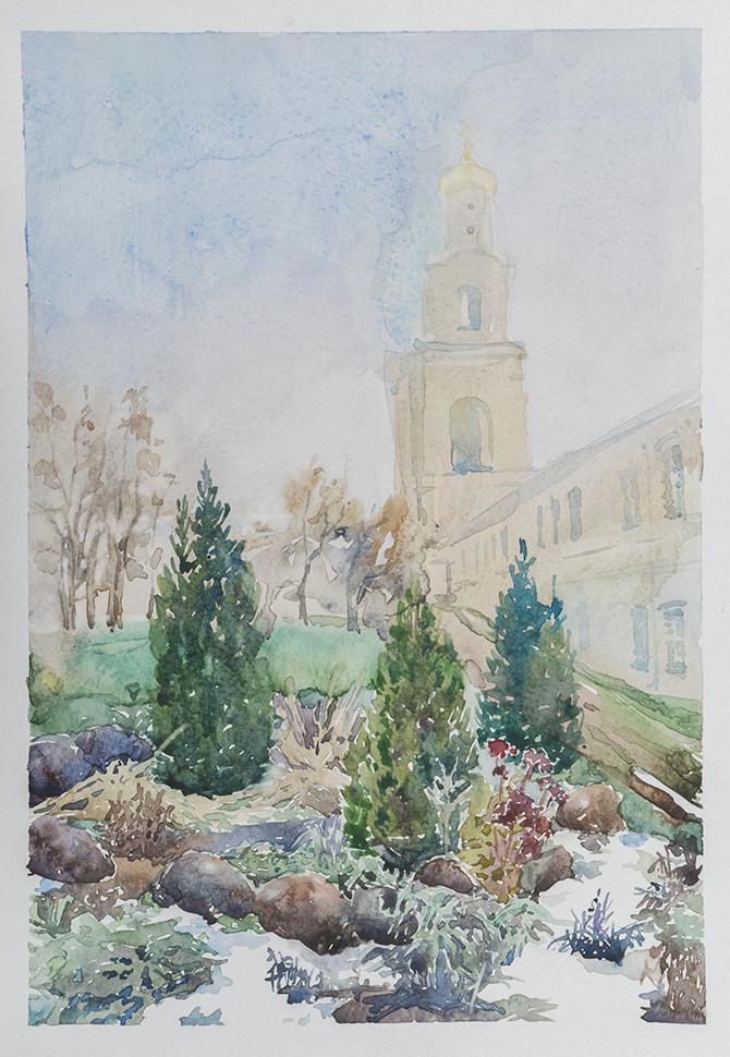 Светлана Юткина «Монастырский сад»