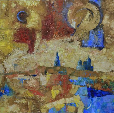 Дмитрий Жогин «Весна у Юрьева монастыря»