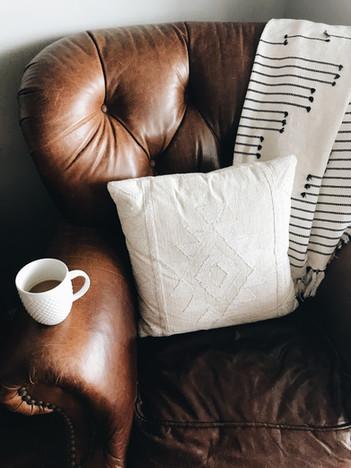 Leather chair - stephanie-harvey