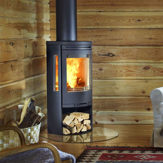 Log burner keeps things toasty