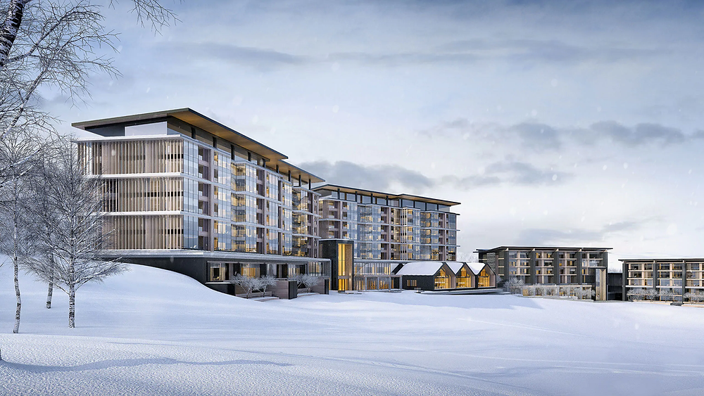 The Park Hyatt Niseko in Hanazono Ski Resort where all your needs are met as a skier from powder to parks!
