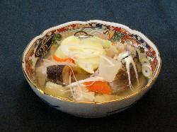 Hokkaido local tastes involving the ocean – sampei-jiru and bekomochi