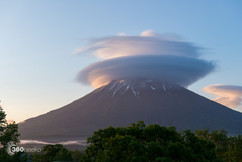 mount yotei clouds