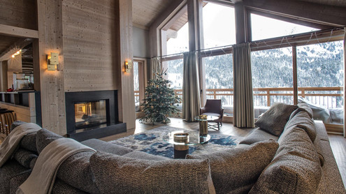 Relax in view of the slopes