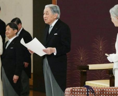 Breaking News-Japanese Emperor Akihito declares historic abdication