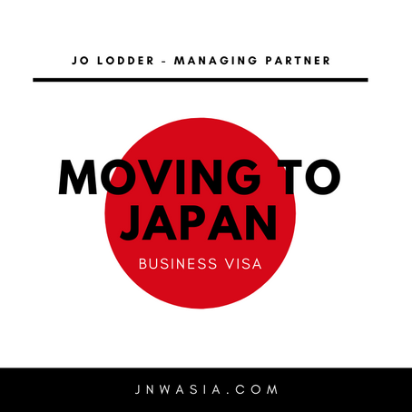 Moving To Japan? Need a Business VISA?