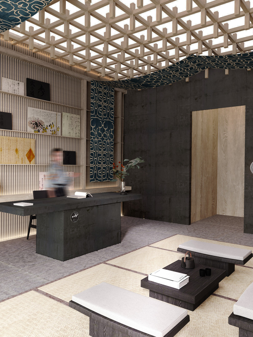 Raku Ichi Residences Reception