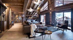 Warm, wooden interiors throughout
