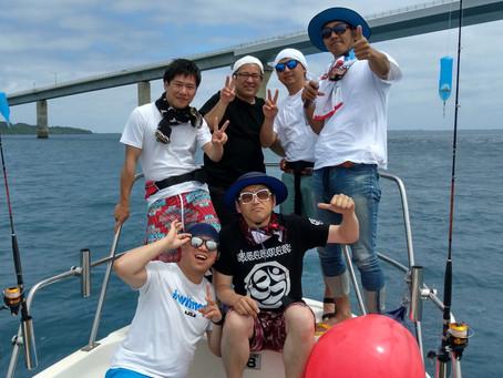 宮古島 釣り体験 グルクンツアー 大阪からお越しのU様御一行