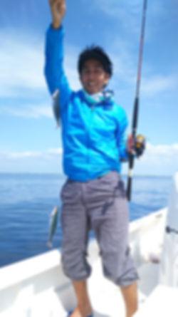 宮古島, グルクン釣り