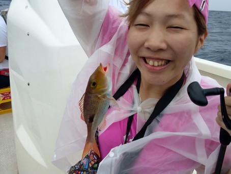 宮古島 釣り体験ツアー 東京都からお越しのK様御一行
