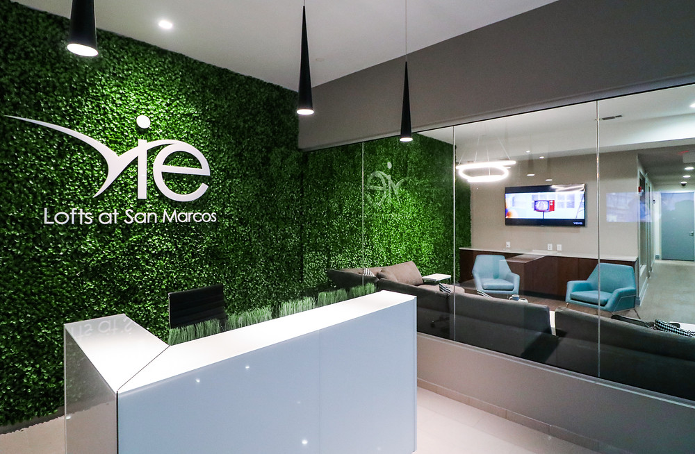 The newly renovated Vie Lofts at San Marcos