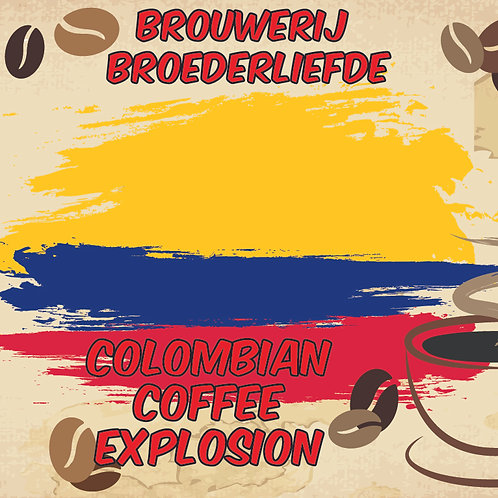 Colombian Coffee Explosion  - Stout - Coffee  - Broederliefde