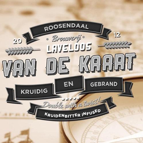 Van De Kaart - Dubbel - Brouwerij Laveloos