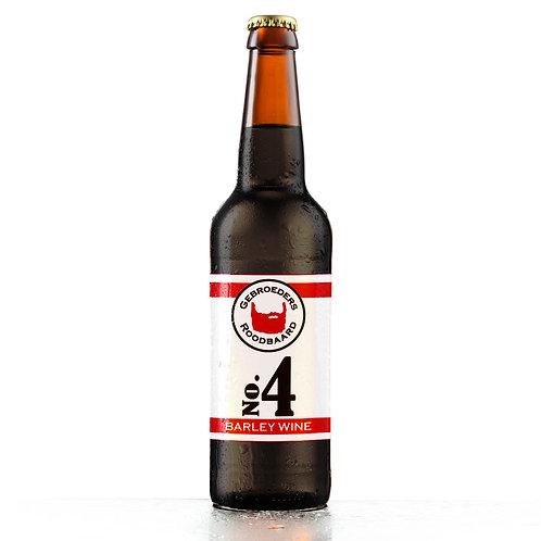 No.4 Barley Wine - Gebroeders Roodbaard